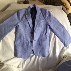 Boys casual suit size 8 blue